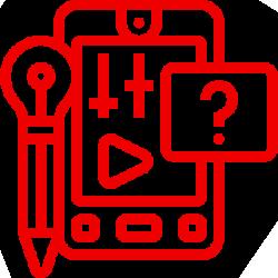 content creation icon - sm