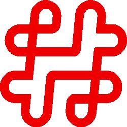 hashtag icon - sm