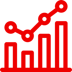 reporting and metrics icon