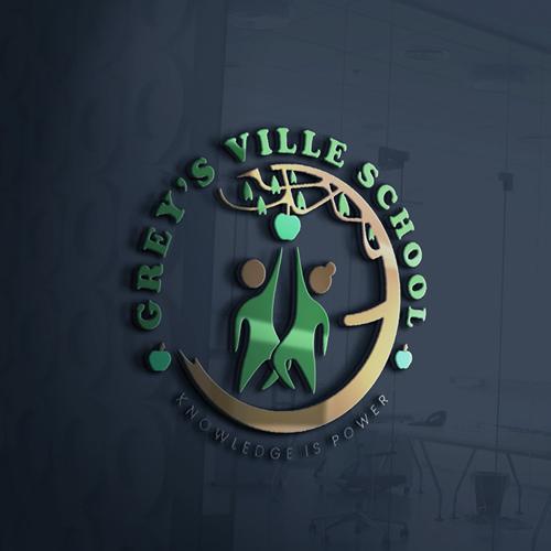 grey ville school logo presentation