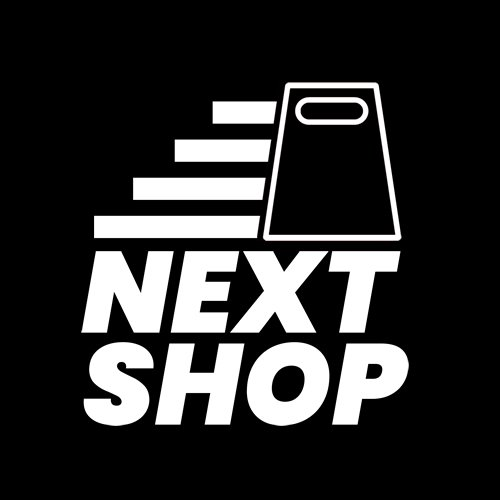 next shop logo design