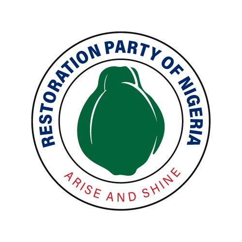 restoration party emblem logo design