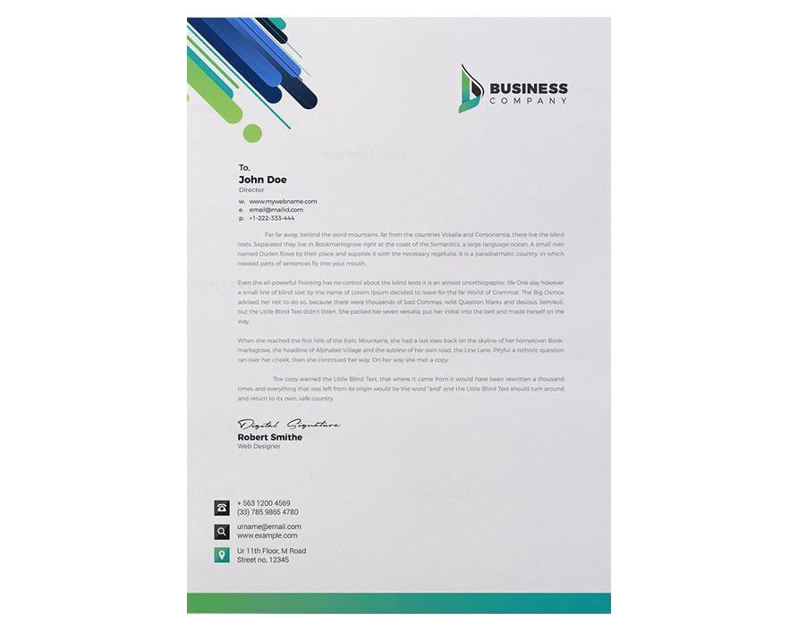 letterhead design in Nigeria