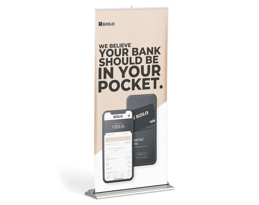 rollup banner design in lagos